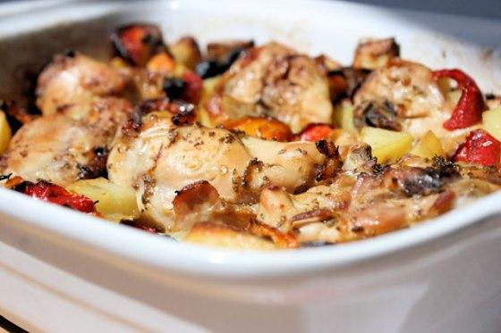 Mediterranean-Roasted-Chicken-Thighs