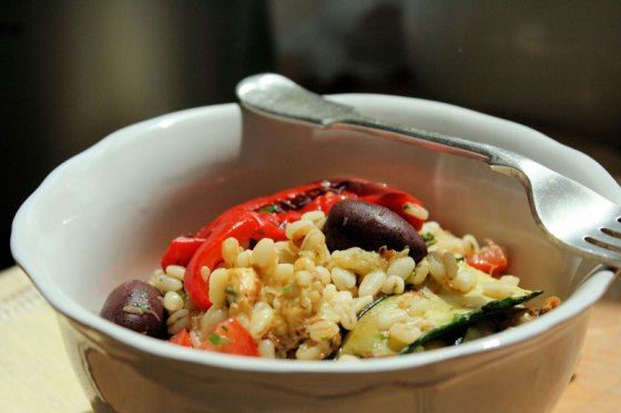 Grilled-Vegetables-Wheat-Salad
