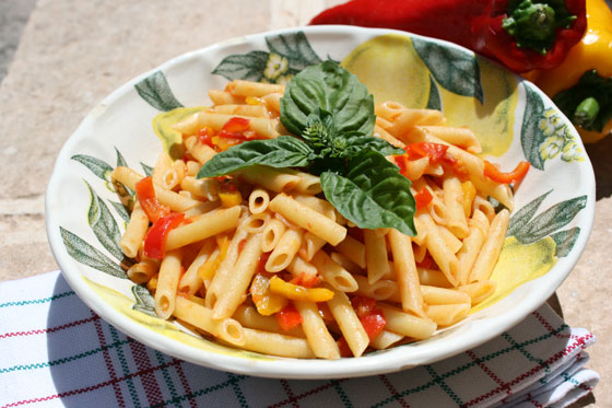 Pasta-with-Romano-Peppers