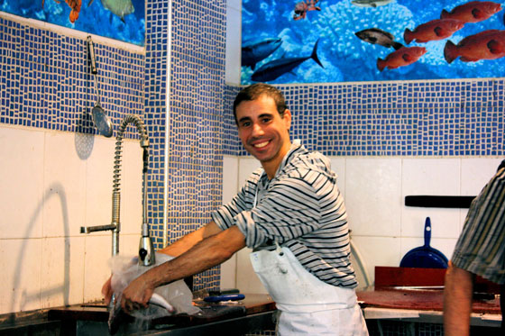 Happy-Fishmonger